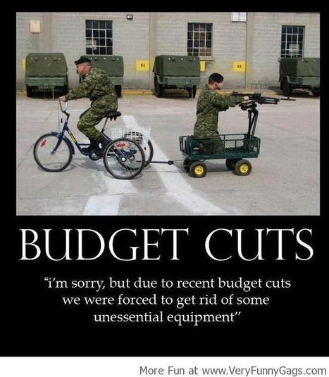 Budget Cuts : Effects Everyone!   Funnygags   Scoop.it