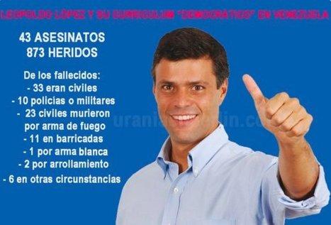 CNA: La otra cara del caso Leopoldo López - Cuando el golpismo viene de familia | La R-Evolución de ARMAK | Scoop.it