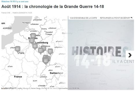 Août 1914 : la chronologie de la Grande Guerre 14-18 - France 3 Picardie | Nos Racines | Scoop.it