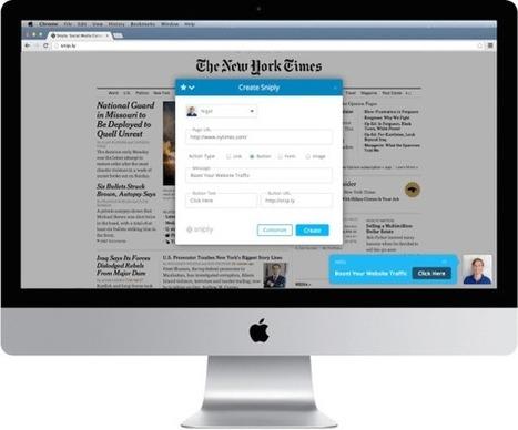 Sniply. Générateur de liens courts et outil marketing | Time to Learn | Scoop.it