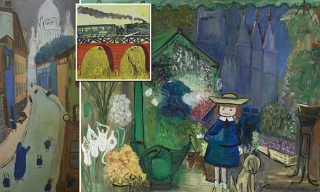 Madeline goes to the museum! Beloved illustrations from the classic children's ... - Daily Mail | Illustration Cloud - in the wild | Scoop.it
