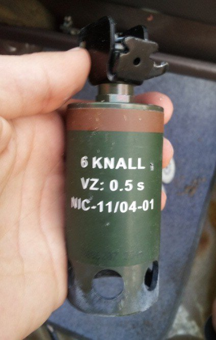 Stinger Grenade  used in Bahrain:  possibly of German Manufacture | Human Rights and the Will to be free | Scoop.it