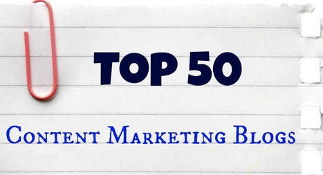 Top 50 Content Marketing Blogs List | Online Writing Tips | Scoop.it
