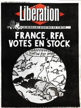 Tintin otage de Moulinsart - Arrêt sur images | Métier de documentaliste-iconographe | Scoop.it