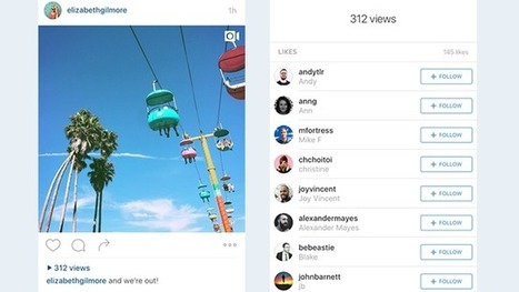 Instagram Will Start Counting Video Views in a Push for More Ads | Instagram's Best | Scoop.it