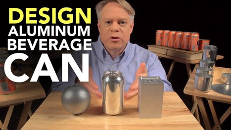 ▶ The Ingenious Design of the Aluminum Beverage Can - YouTube | Heron | Scoop.it
