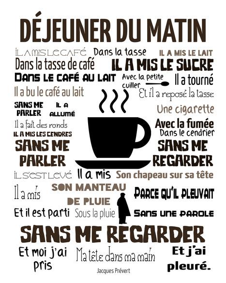 Le déjeuner du matin, Prévert | Remue-méninges FLE | Scoop.it