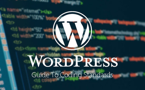 Coding Standards For WordPress [Guide] #webdesign | COMPUTATIONAL THINKING and CYBERLEARNING | Scoop.it