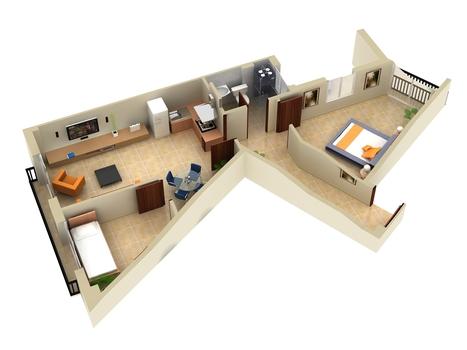 3D Floor Plans Design: 3d House Floor Plans Modeling & Rendering | Architecture Engineering & Construction (AEC) | Scoop.it