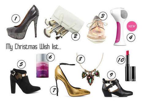 Christmas Wish List 2013 – My Shoe Confession | myshoeconfession | Scoop.it
