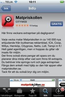 Stay Fit - Therese träningsblogg: App: Matpriskollen   Folkbildning på nätet   Scoop.it