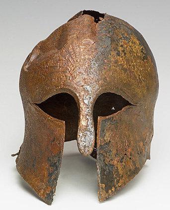 Découverte archeologique : un casque grec   Archéologie - Langues et Cultures de l'Antiquité   Histoire et Archéologie   Scoop.it