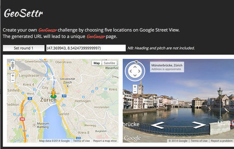 GeoGuessr selbst gemacht | Moodle and Web 2.0 | Scoop.it