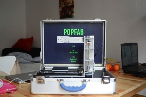 POP Fab – A Suitcase Size 3D Printer | mobile fablabs | Scoop.it