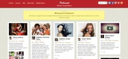 15 Hand-Picked Pinterest Style WordPress Themes | WordPress Themes | Scoop.it