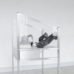 """Eindhoven-based Designer Joong Han Lee's Project, """"Haptic Intelligentsia"""" Is A Human 3D Printing System That Allows The ... - #44363 - NOTCOT.ORG 
