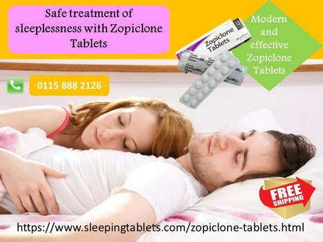 Common Factors Affecting Zopiclone Dosages | Solution of Sleeping Disorder (Insomnia) | Scoop.it