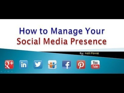 How To Manage Your Social Media Presence | The Solutions To Search Engine Optimization | Scoop.it