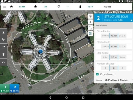 Drone Flight Control App Now Open to Developers | 3D Virtual-Real Worlds: Ed Tech | Scoop.it