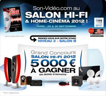 Son-Vidéo au salon de la Hi-Fi - Le blog de Son-Vidéo.com | accessoires-hifi | Scoop.it