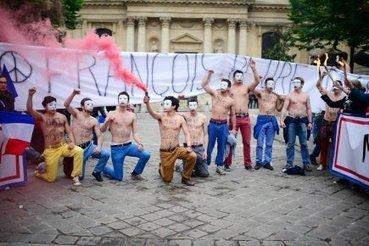 Après les Femen voici les Hommen - LaPresse.ca | Actions HOMMEN | Scoop.it