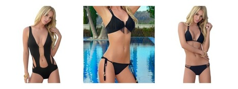 Favorite Black Bikini! | Luxury Designer Swimwear Fashion | Scoop.it