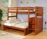 Kids Bunk Beds, Stairway Bunk Beds, and Children's Furniture for Kids   Bunk Bed Kingdom   Twin over Full Bunk Beds   Scoop.it