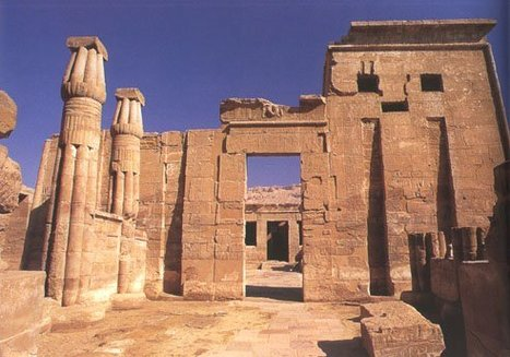 The Temple of Madinet Habu | Explore Egypt Travel | Scoop.it