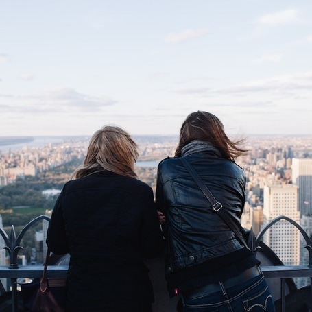 Reflective Moments of People Overlooking New York City | Le It e Amo ✪ | Scoop.it