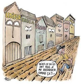 Lobby agrolimentaire: pourquoi ils tiennent le manche - Charlie Hebdo (Satire) | La Spiruline : une algue très douée... pour 1 kg de protéines | Scoop.it