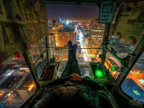 Picture of the Day: The Crane Operator's View | Urban Culture is my Playground | Scoop.it