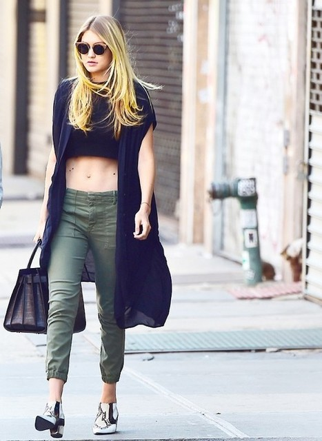 Gigi Hadid Street Style: Young And Inspired! » Celebrity Fashion, Outfit Trends And Beauty News | Fashion Style And Beauty Tips | Scoop.it
