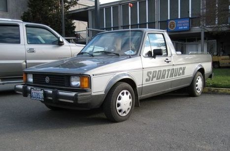Lost Cars of the 1980s – Volkswagen Pickup | Hemmings Daily | 1980s | Scoop.it