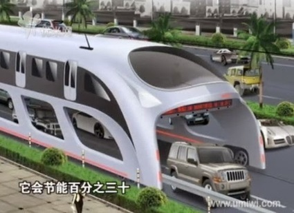 Eco-Friendly Future Buses - Will run on cars!! - A blog about Tech updates and Future Tech | Business news | Scoop.it
