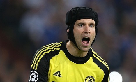Petr Cech to remain Chelsea's first-choice keeper next season, but Thibaut ... - Daily Mail | Barclays Premier League | Scoop.it