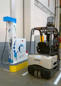Start-up of the first hydrogen filling station for forklift trucks for IKEA in France > Air Liquide advanced Business   Industry - Innovation - Creation -   Scoop.it
