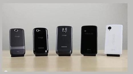 El Nexus 5 se somete una prueba de velocidad contra sus predecesores   Antonio Galvez   Scoop.it