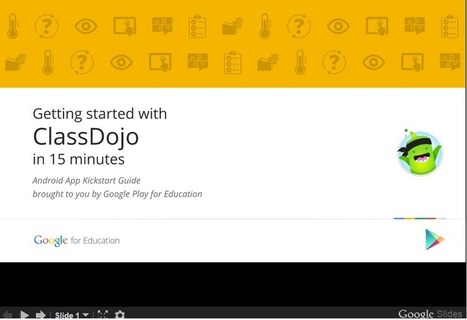 Educational Technology Guy: Google App Kickstart Guides - help learn how to use Google Play for Education Apps in your classroom | The 21st Century | Scoop.it