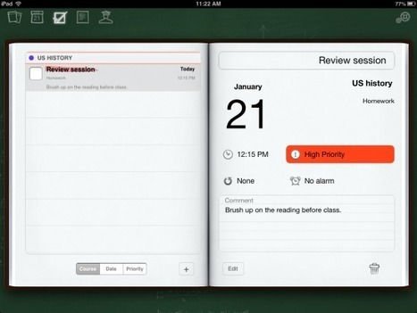inClass – A Great Multimedia Notebook for Your Students' iPads | Teaching 21st Century | Scoop.it