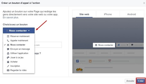 Définition du jour : Call-to-action de votre page Facebook (et comment le mettre en place) | Socialdigitalnews | Scoop.it
