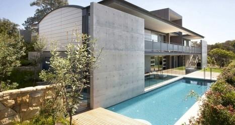 Impressionnante maison béton à l'architecture très design en Australie | Immobilier International | Scoop.it
