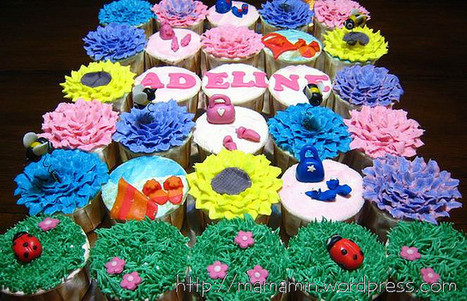 Garden Cupcakes - Cupcake Party | CupCake Blog | Scoop.it