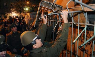 Chilean police evict student protesters from schools | Higher Education and academic research | Scoop.it