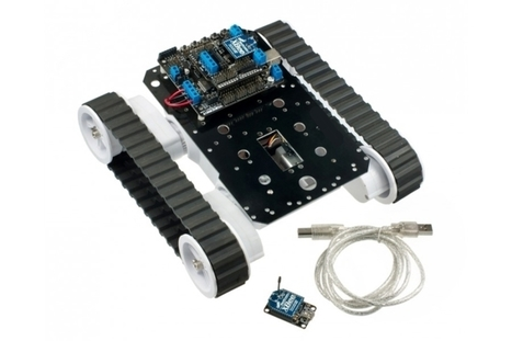 Arduino Robot Rover 5 Chassis With Romeo Board & Xbee Wireless | Robot Rovers | Raspberry Pi | Scoop.it