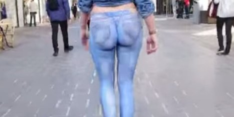 Pants Or Paint? (NSFW VIDEO) | Xposed | Scoop.it