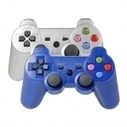 2Pcs Wireless Bluetooth Controllers for PS3 Blue & Silver (Color Buttons) | Back To School Supplies | Scoop.it