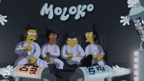 The Simpsons' A Clockwork Orange Parody Is A Brilliant Piece Of TV | Strange days indeed... | Scoop.it