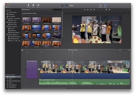 Constructing an iMovie project | Macworld | iEduc | Scoop.it