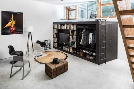 The Living Cube | Schreinerei Holzlabor Bern | Home, cool home | Scoop.it