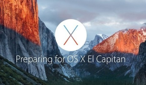 6 Steps to Prepare a Mac for the OS X El Capitan Update | An Eye on New Media | Scoop.it